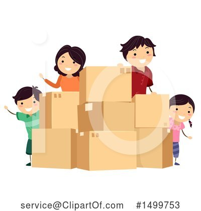Moving Clipart #1499753 by BNP Design Studio