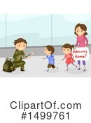 Royalty-Free (RF) Family Clipart Illustration #1499761