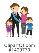 Royalty-Free (RF) Family Clipart Illustration #1499770