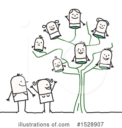 Royalty-Free (RF) Family Clipart Illustration by NL shop - Stock Sample #1528907