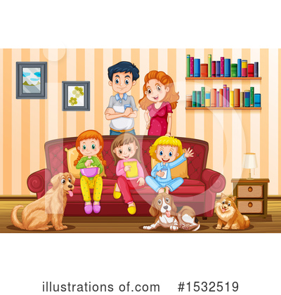 Royalty-Free (RF) Family Clipart Illustration by Graphics RF - Stock Sample #1532519