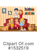 Family Clipart #1532519 by Graphics RF