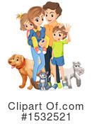 Family Clipart #1532521 by Graphics RF