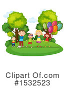 Family Clipart #1532523 by Graphics RF