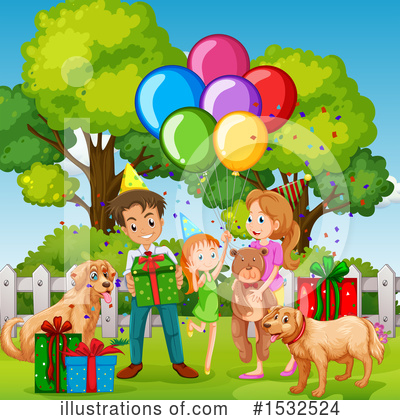 Royalty-Free (RF) Family Clipart Illustration by Graphics RF - Stock Sample #1532524