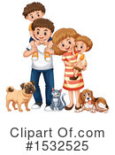 Family Clipart #1532525 by Graphics RF