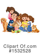 Family Clipart #1532528 by Graphics RF