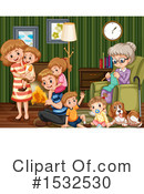 Family Clipart #1532530 by Graphics RF