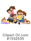 Family Clipart #1532535 by Graphics RF