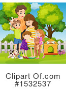 Family Clipart #1532537 by Graphics RF