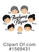 Family Clipart #1569431 by BNP Design Studio