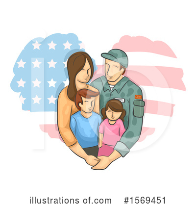 Family Clipart #1569451 by BNP Design Studio