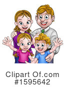 Family Clipart #1595642 by AtStockIllustration