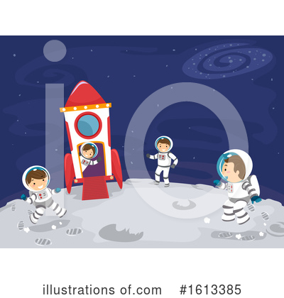 Outer Space Clipart #1613385 by BNP Design Studio