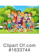 Family Clipart #1633744 by Graphics RF