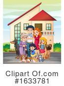 Family Clipart #1633781 by Graphics RF