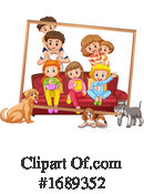 Family Clipart #1689352 by Graphics RF