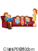 Family Clipart #1709803 by Graphics RF