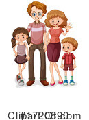 Family Clipart #1720890 by Graphics RF