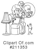Family Clipart #211353 by Alex Bannykh