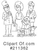 Family Clipart #211362 by Alex Bannykh