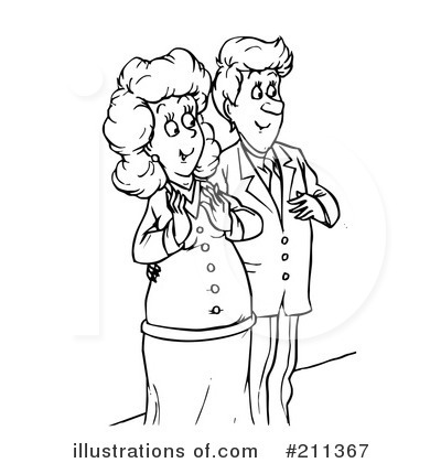 Couple Clipart #211367 by Alex Bannykh