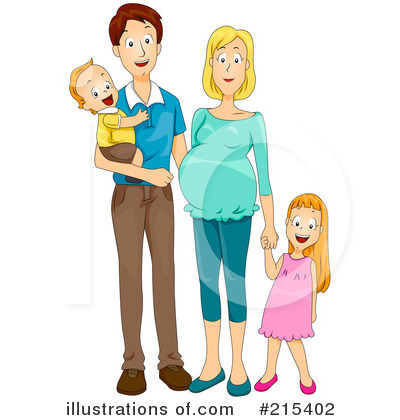 Royalty-Free (RF) Family Clipart Illustration by BNP Design Studio - Stock Sample #215402