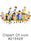 Royalty-Free (RF) Family Clipart Illustration #215428