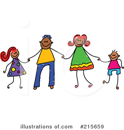 Royalty-Free (RF) Family Clipart Illustration by Prawny - Stock Sample #215659