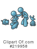 Family Clipart #219958 by Leo Blanchette