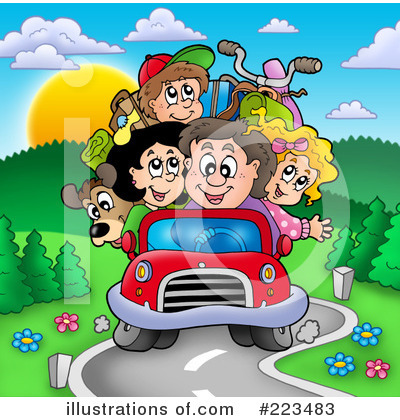 Driving Clipart #223483 by visekart
