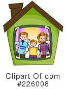 Royalty-Free (RF) Family Clipart Illustration #226008