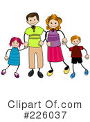 Family Clipart #226037 by BNP Design Studio