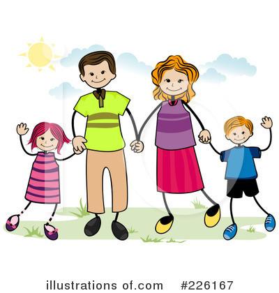 Family Clipart #226167 - Illustration by BNP Design Studio