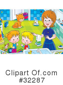 Family Clipart #32287 by Alex Bannykh