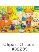 Royalty-Free (RF) family Clipart Illustration #32289