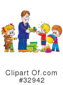 Family Clipart #32942 by Alex Bannykh