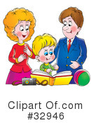 Family Clipart #32946 by Alex Bannykh