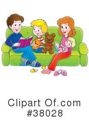 Family Clipart #38028 by Alex Bannykh