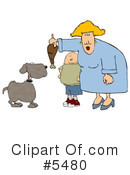 Royalty-Free (RF) Family Clipart Illustration #5480