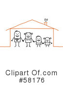 Family Clipart #58176 by NL shop