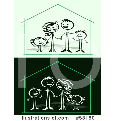 House Clipart #58180 by NL shop