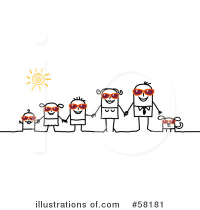 Family Clipart #58181 by NL shop