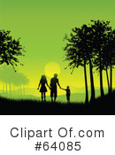 Family Clipart #64085 by KJ Pargeter