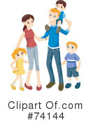 Family Clipart #74144 by BNP Design Studio