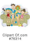 Royalty-Free (RF) family Clipart Illustration #76314