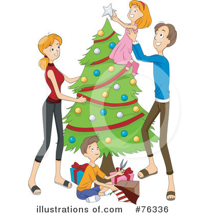 Christmas Tree Clipart #76336 by BNP Design Studio