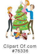 Royalty-Free (RF) Family Clipart Illustration #76336