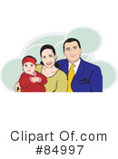 Family Clipart #84997 by David Rey