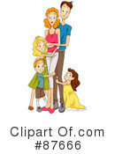 Royalty-Free (RF) Family Clipart Illustration #87666
